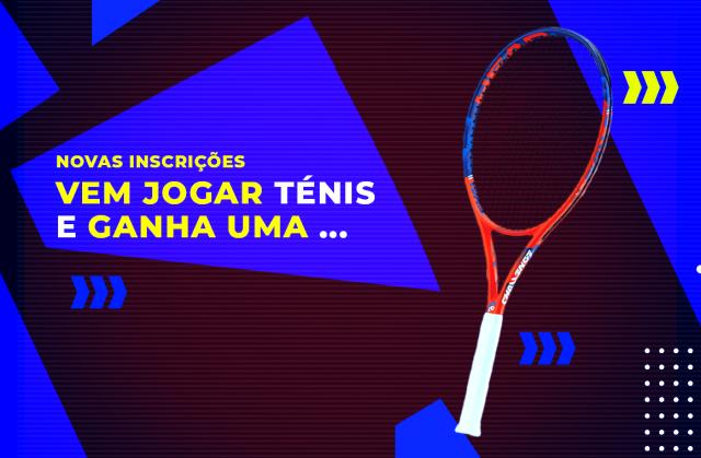 Campanha Novas Inscrições LTA. Ganha uma raquete!