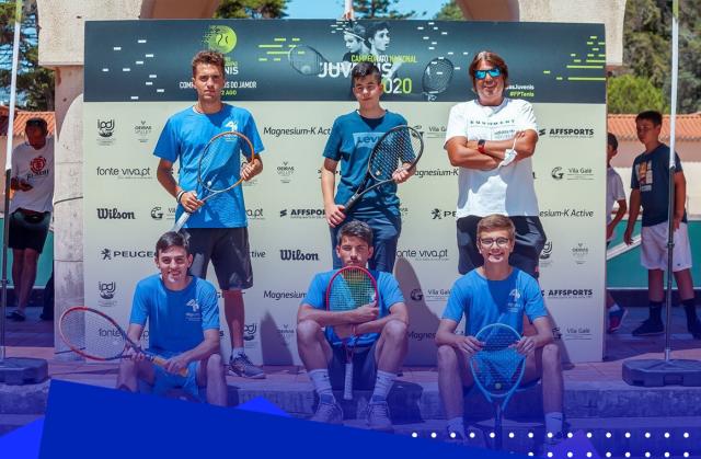 Equipa de juniores masculinos de Lousada termina no top10 nacional de equipas