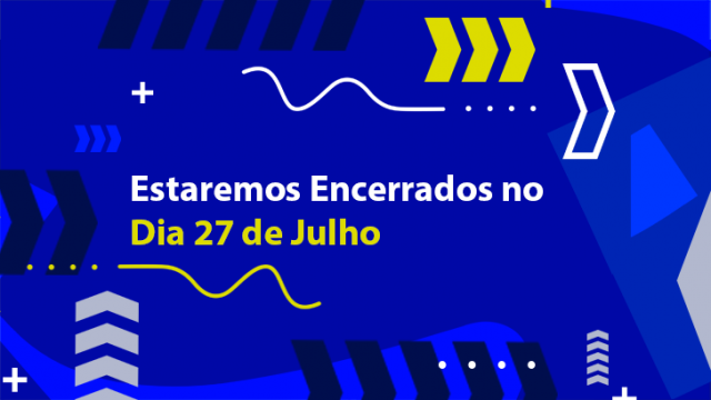 LTA ENCERRADO NO FERIADO MUNICIPAL DE 27 DE JULHO