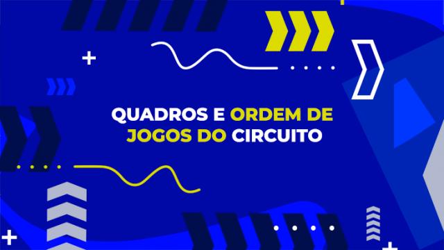 1.ª Etapa Circuito Juvenil do Vale do Sousa: ordem de jogos
