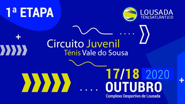 Vencedores e Finalistas da 1.ª Etapa do Circuito Juvenil do Vale do Sousa (20/21)