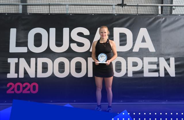 Lara Salden triunfa e conquista título do Lousada Indoor Open II