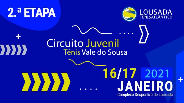 2ª Etapa do Circuito Juvenil do VS (20/21): Inscrições até 14 de Janeiro