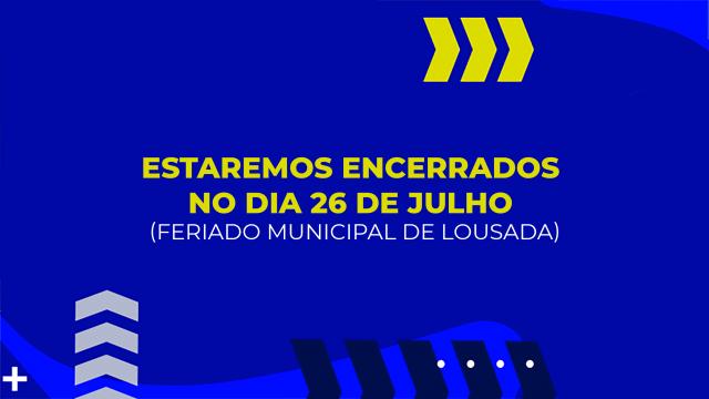 LTA encerrado no feriado municipal de 26 de julho