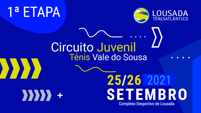 Conhecidos os vencedores da 1.ª Etapa Circuito Juvenil Vale do Sousa